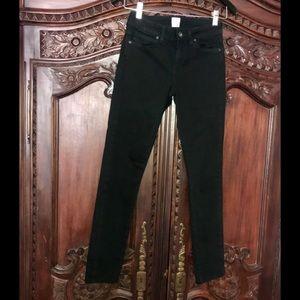 EUC Rich & Skinny black skinny jeans. Sz 24.